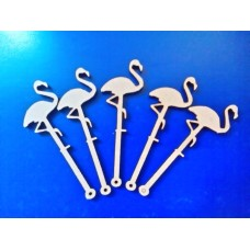 3mm MDF Flamingo Mini Wand PK5